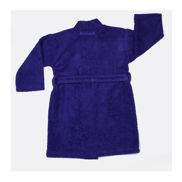 Dětský župan US Polo Uspa Violet Blue, vel. 3/4
