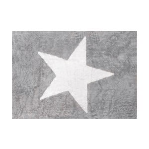 Koberec Estela 160x120 cm, šedý