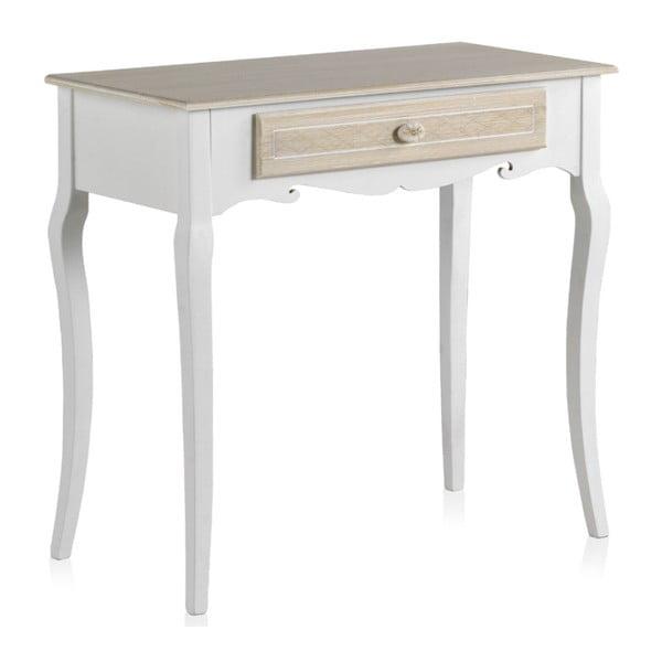 Dřevěný konzolový stolek se zásuvkou Geese Ethel