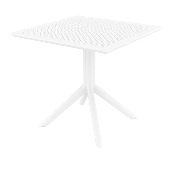 Sky fehér kerti étkezőasztal, 80x80 cm - Resol