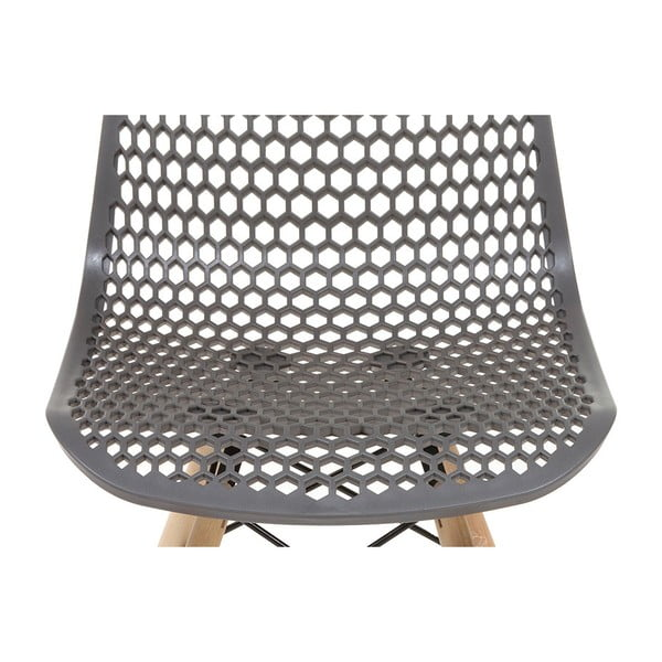 Šedá židle Santiago Pons Volga