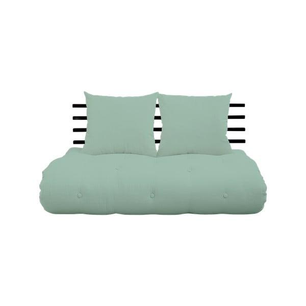 Canapea extensibilă Karup Design Shin Sano Black/Mint