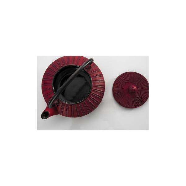 Litinová konvice Bona Red, 850 ml