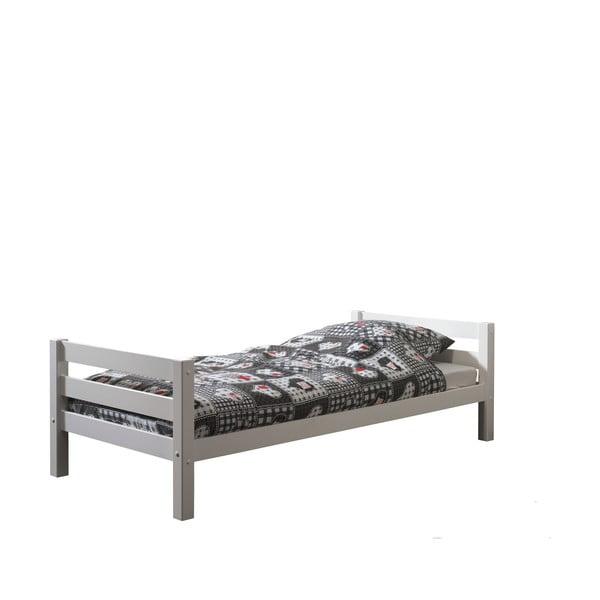 Bílá dětská postel Vipack Pino, 90x200cm