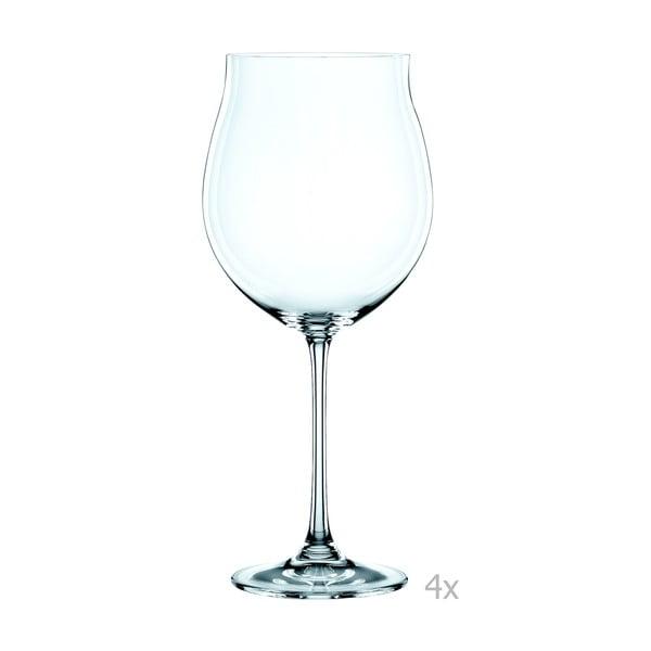 Sada 4 sklenic z křišťálového skla Nachtmann Vivendi Premium Pinot Noir Set, 897 ml