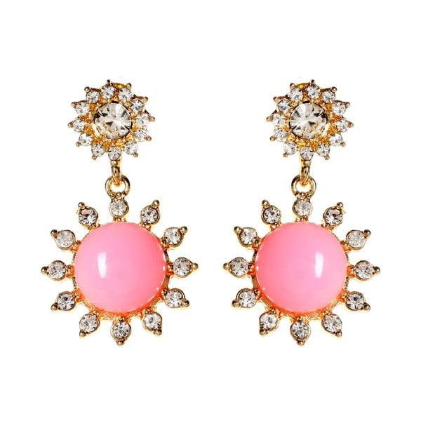 Náušnice Sweet Princess Pink