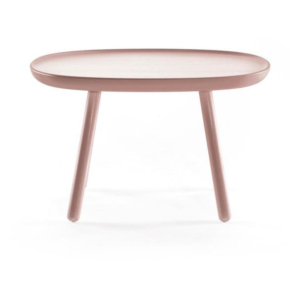 Dřevěný odkládací stolek EMKO Naïve, ⌀41 cm