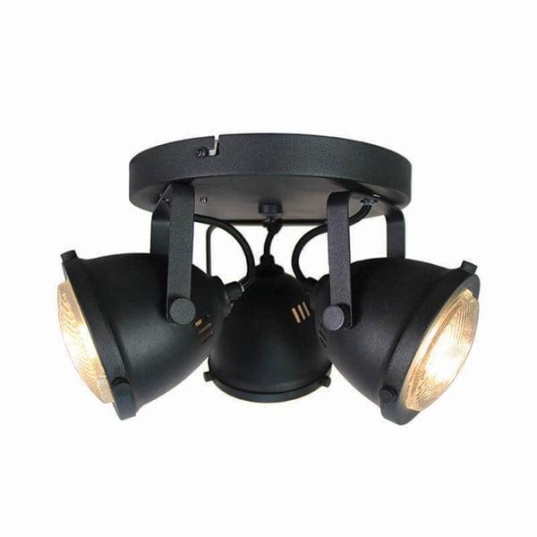 Černé nástěnné svítidlo LABEL51 Spot Moto Tres