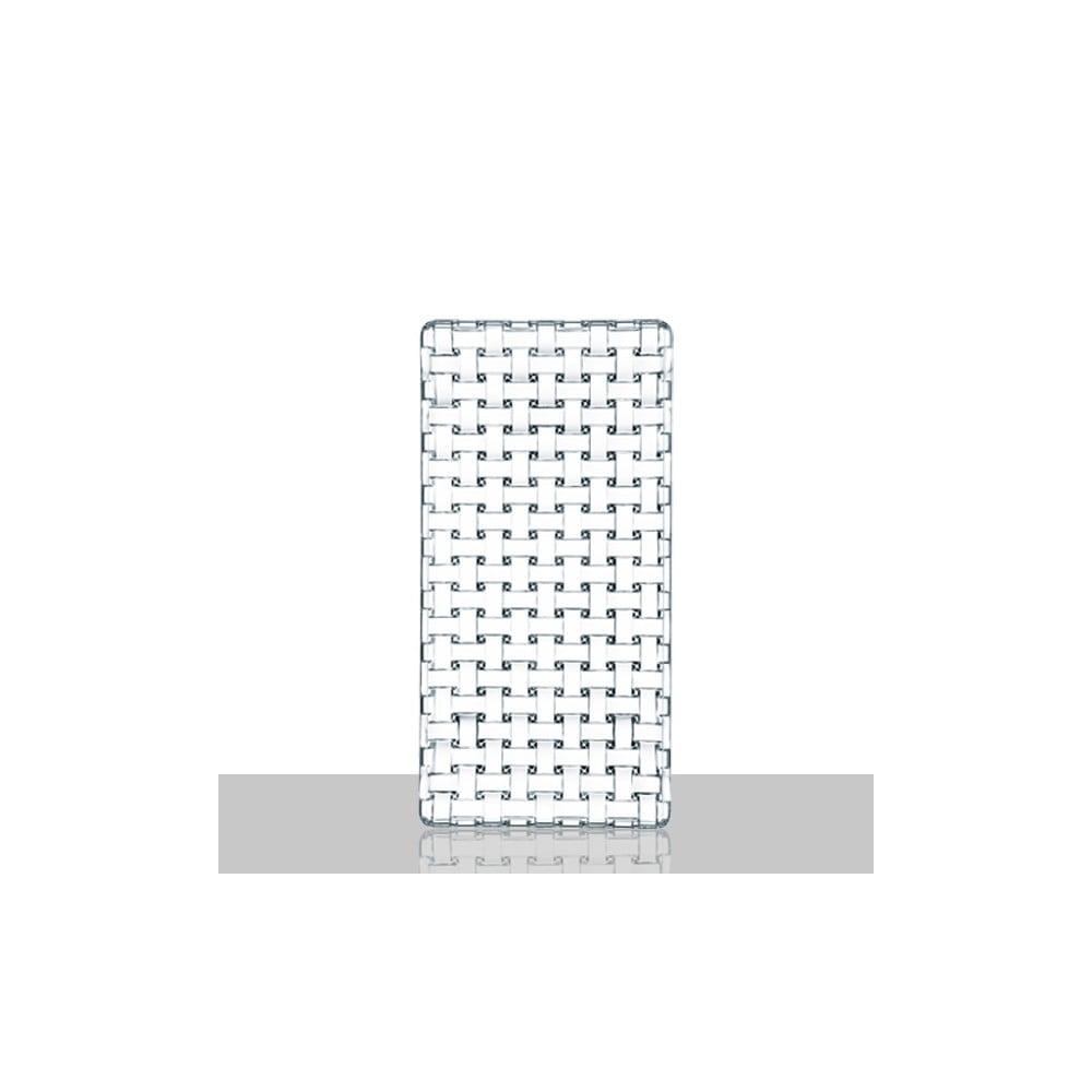 Servírovací podnos z křišťálového skla Nachtmann Bossa Nova,28x14cm