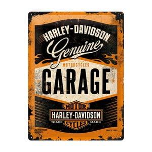 Plechová cedule Garage, 30x40 cm