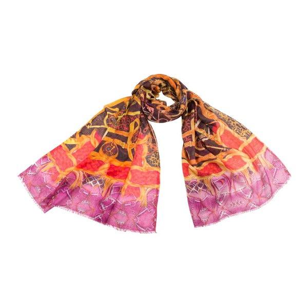 Šátek s příměsí kašmíru Shirin Sehan Viktoria