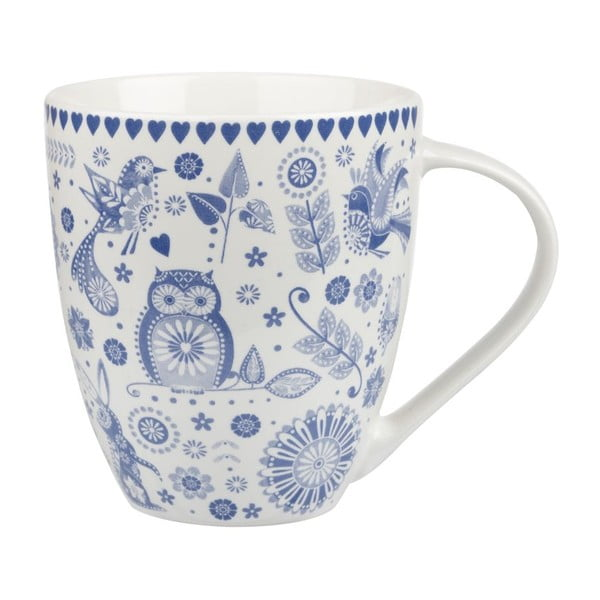 Porcelánový hrnček Churchill China Penzance Crush Blue, 500 ml