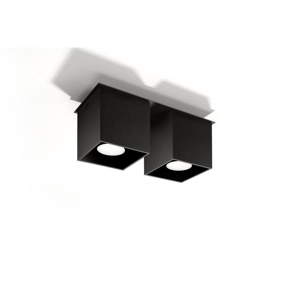 Černé stropní světlo Nice Lamps Geo