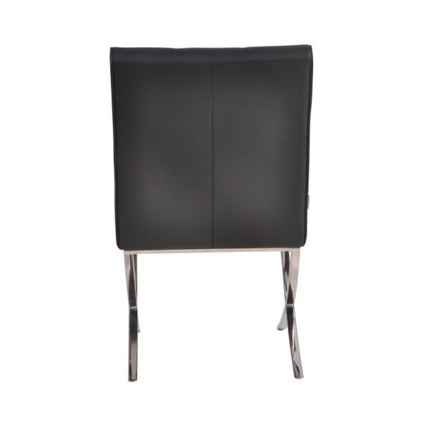 Sada 2 černých židlí Garageeight Murcia