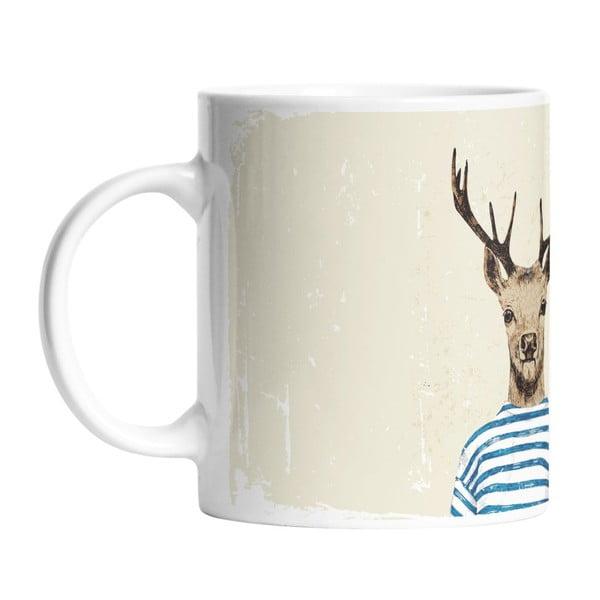 Keramický hrnek Young Deer, 330 ml