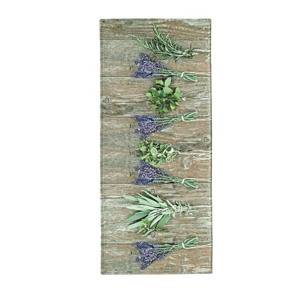 Běhoun Floorita Lavender, 60 x 140 cm