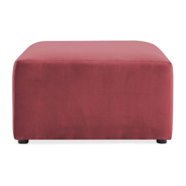 Červenorůžová podnožka Vivonita Velvet Cube