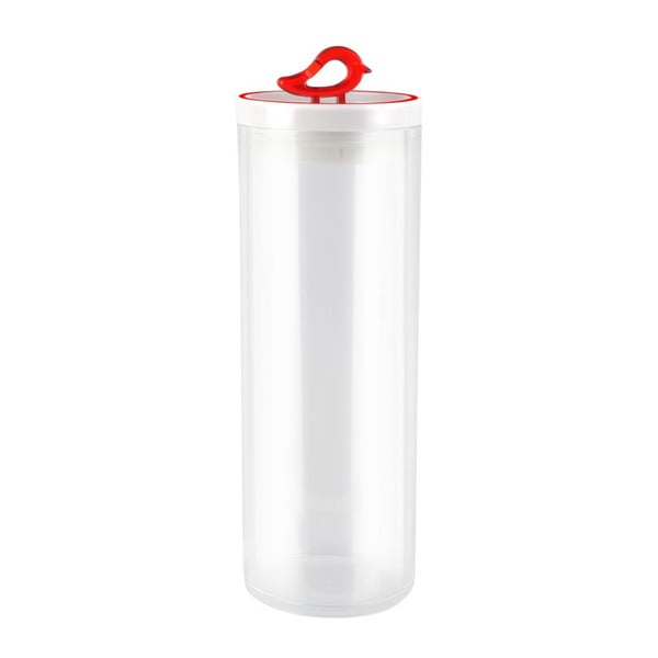 Livio piros konyhai tároló doboz, 1,8 l - Vialli Design