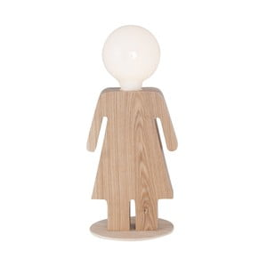 Dřevěná stolní lampa Anastasia