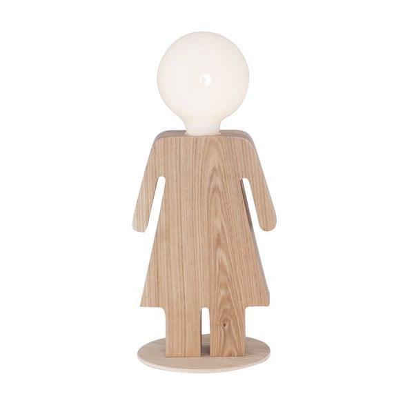 Dřevěná stolní lampa Home Anastasia