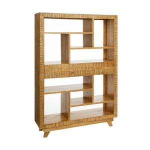 Dřevěná knihovna Denzzo Albrieo