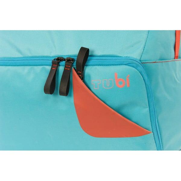 Velký batoh na kolo TUbí, modrá/oranžová