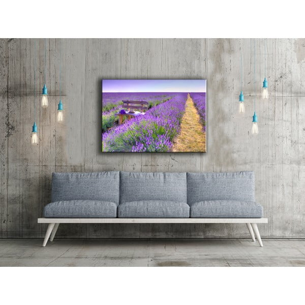 Obraz Lavender Painting, 80x115 cm