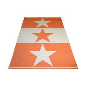 Covor foarte rezistent Floorita Orange Star, 200 x 290 cm, portocaliu