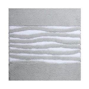 Koupelnová předložka Morgan Silver, 60x60 cm