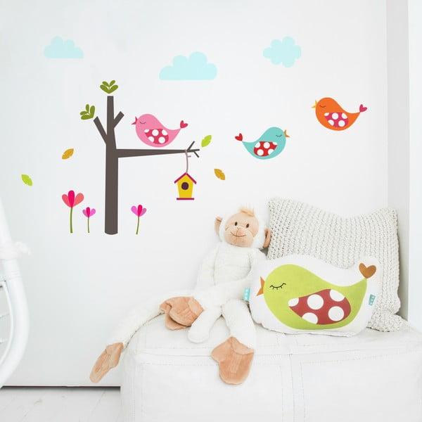 Samolepka na stěnu Little Birds