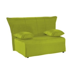 Canapea extensibilă cu 2 locuri 13Casa Cedro, verde