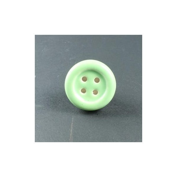 Porcelánová úchytka Green Button