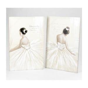 Sada 2 obrazů Dancing Girls, 100x65 cm