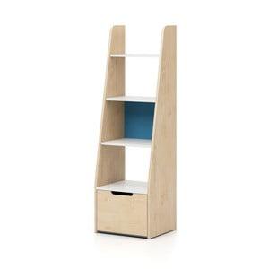Knihovna s modrými detaily Devoto Nimbo