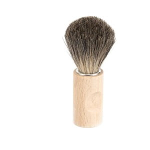 Pămătuf de bărbierit din păr natural Iris Hantverk, păr de bursuc