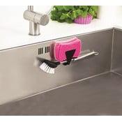 Suport magnetic pentru burete de bucătărie Reenbergs Sponge, negru