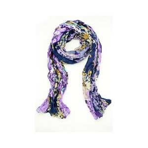 Šátek Flowery Marron