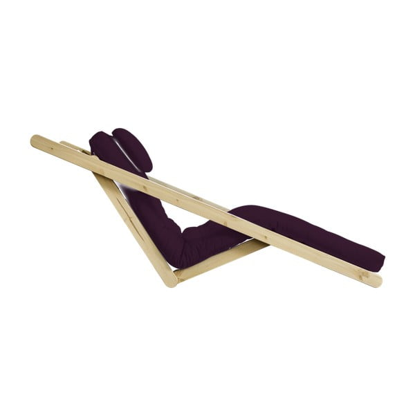 Variabilní lenoška Karup Figo Raw/Purple Plum