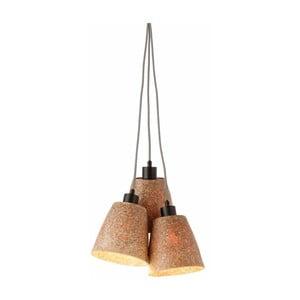 Závěsné svítidlo z dřevěné drti pro 3 žárovky Good&Mojo Sequoia