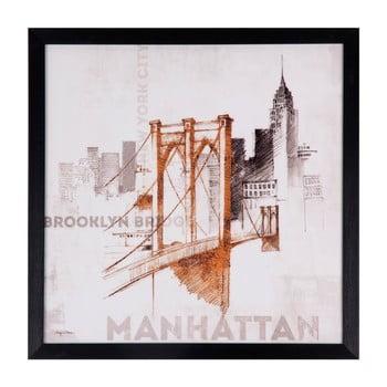 Tablou Sømcasa Manhattan, 40 x 40 cm