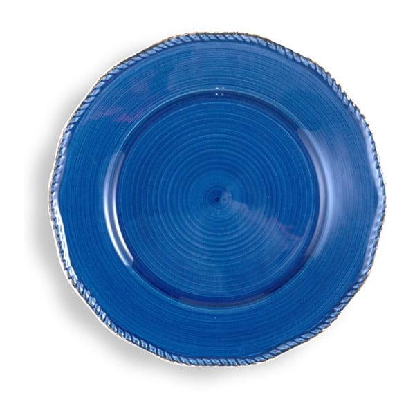 Farfurie mare Brandani, albastră