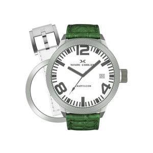 Pánské hodinky Marc Coblen s páskem a kroužkem navíc P19
