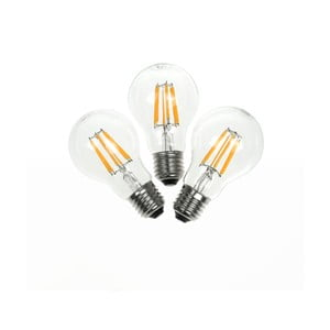 Set 3 becuri LED Bulb Attack PIONEER Linear, 5,5 W