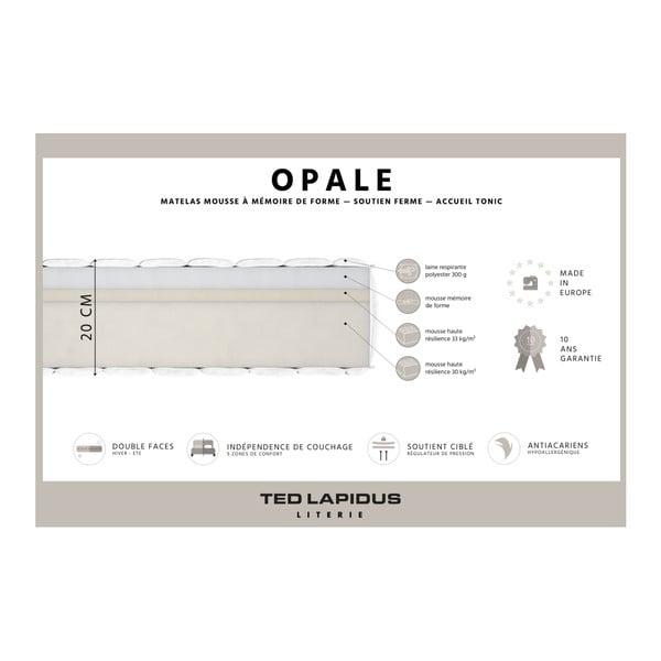 Matrace z paměťové pěny Ted Lapidus Maison OPALE, 160x200cm