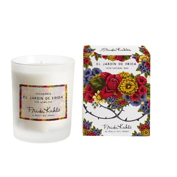 Świeczka zapachowa Madre Selva Jardín de Frida, czas palenia 50 h