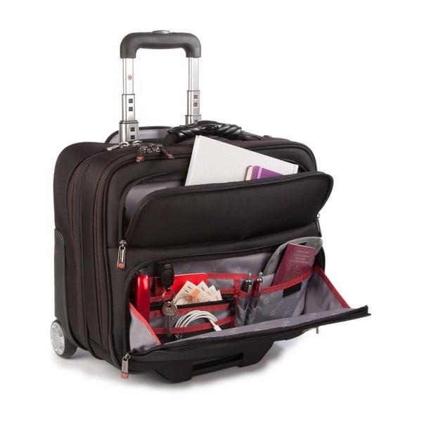 Cestovní kufr i-stay Fortis, černý