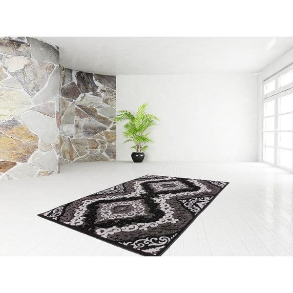 Koberec Ankara Black, 80x150 cm