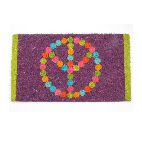 Rohožka Peace 40x70 cm
