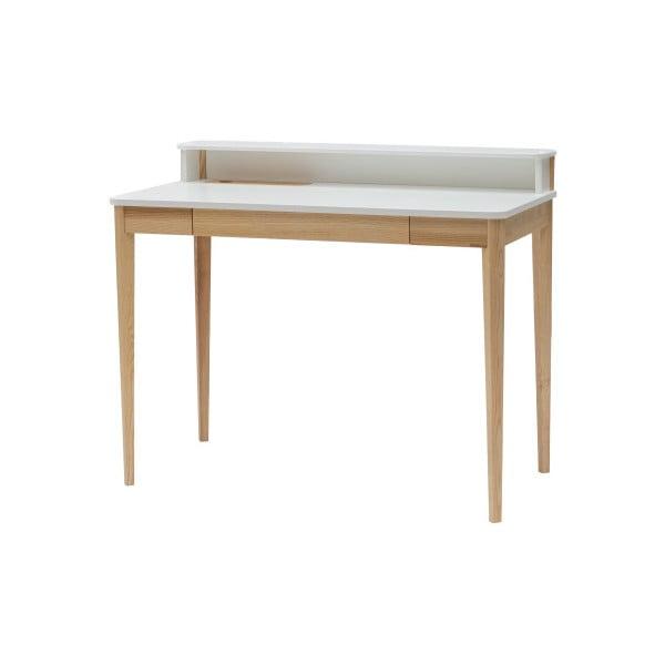 Bílý pracovní stůl Ragaba ASHME