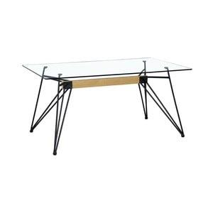 Skleněný jídelní stůl Geometric